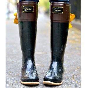 Joules Evedon tall rain boot, like brand new